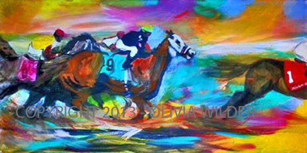 Finish LIne (2 of diptych)