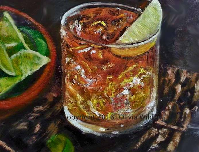 Dark and Stormy - Happy Hour
