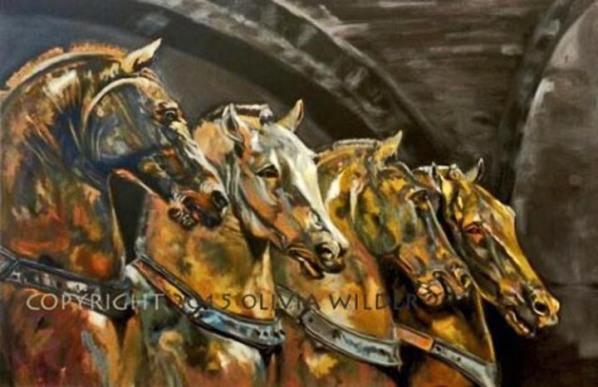 THE 4 HORSES OF ST. MARK'S BASILICA